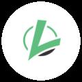 Logotip kompanije NES communications zelene boje